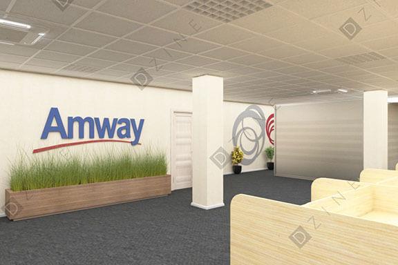 Дизайн проект офиса AMWAY