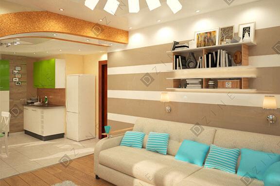 Дизайн проект квартиры в Салехарде