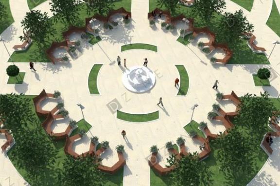 Ландшафтный дизайн территории