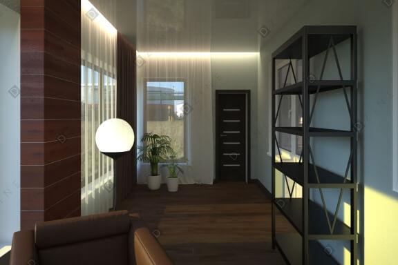 Дизайн-проект веранды в современном стиле