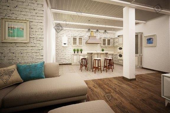 Дизайн-проект интерьера дома (коттеджа)