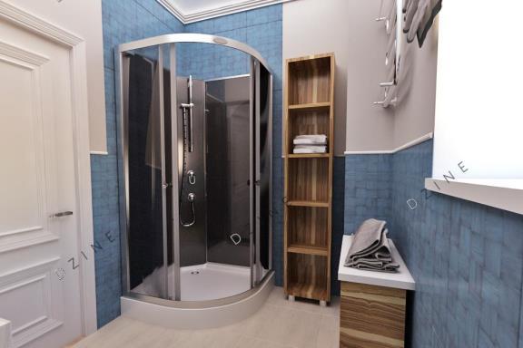 Дизайн-проект интерьера ванной комнаты в частном доме