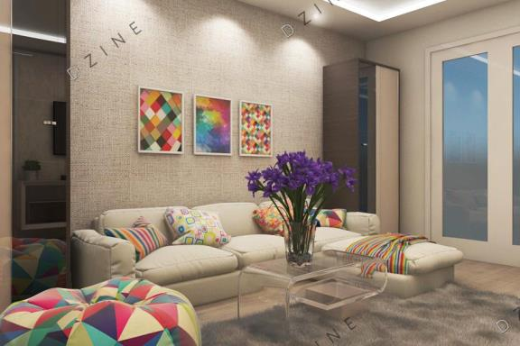 Дизайн-проект интерьера комнаты отдыха
