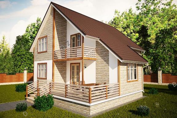 Дизайн-проект проект загородного дома