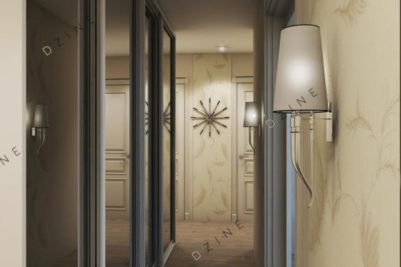 Дизайн-проект прихожей-коридора