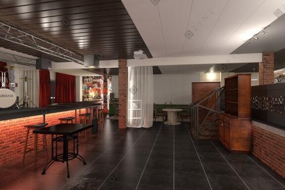 Дизайн-проект ресторана Ленинград