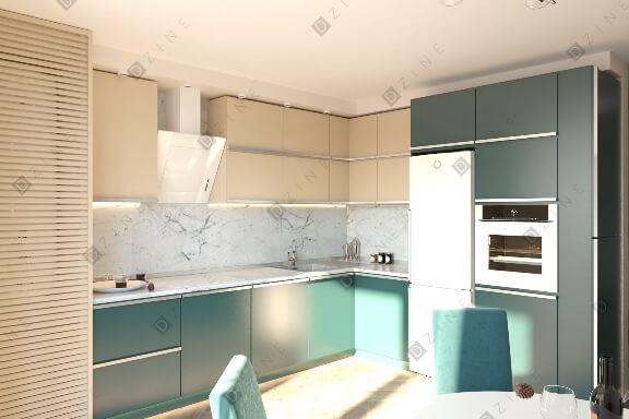 Дизайн-проект кухни в современном стиле