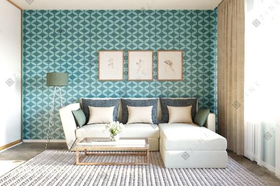 Дизайн-проект комнаты в современном стиле