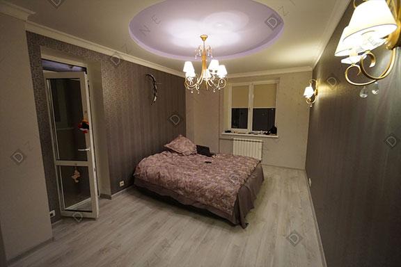 Отделка спальни