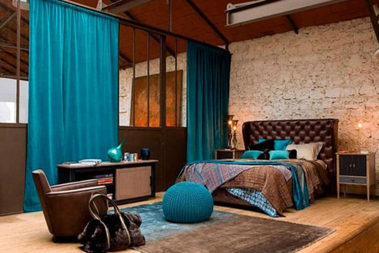 Декорирование спальни нежными тонами