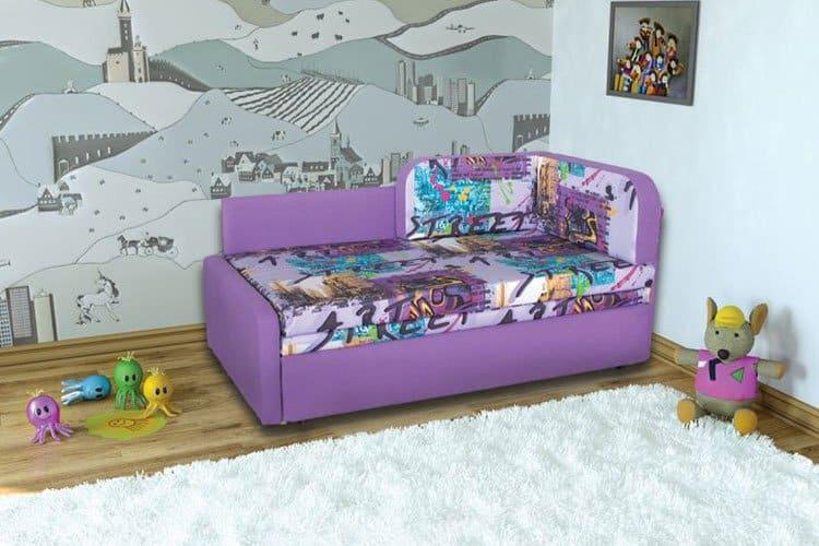 Детский выкатной диван