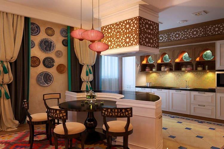Этно-стиль в интерьере кухни