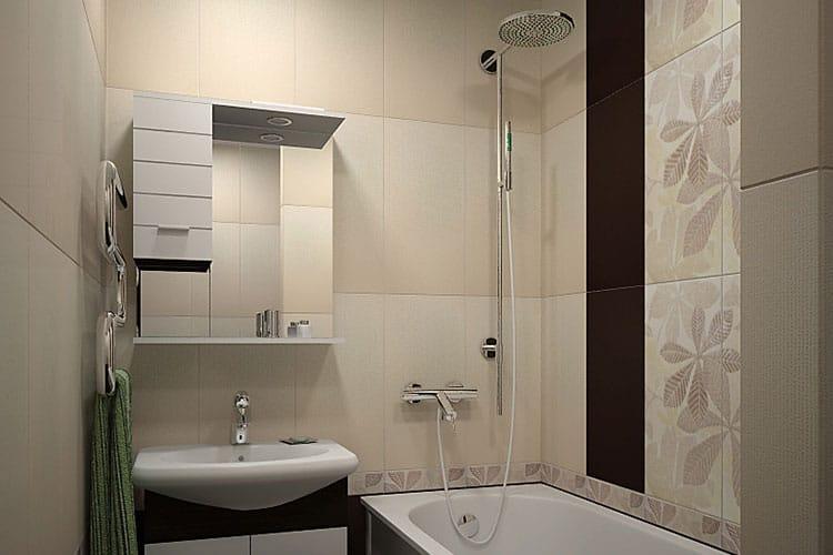 Как сделать ремонт маленькой ванной