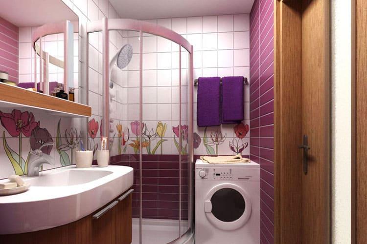 Как увеличить площадь ванной