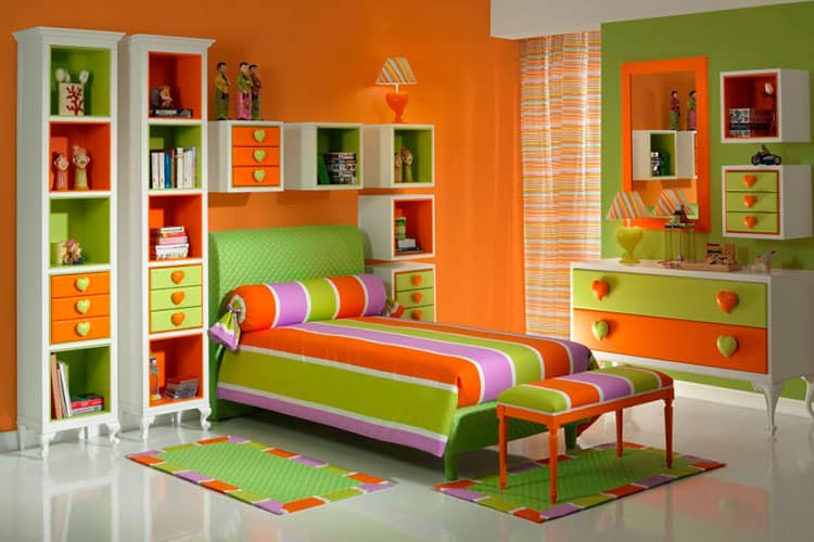 Какого цвета должна быть детская мебель