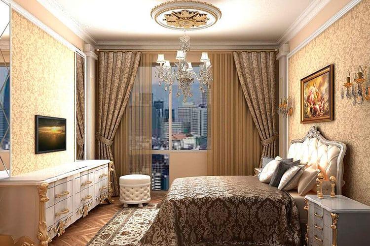 Классический стиль спальни