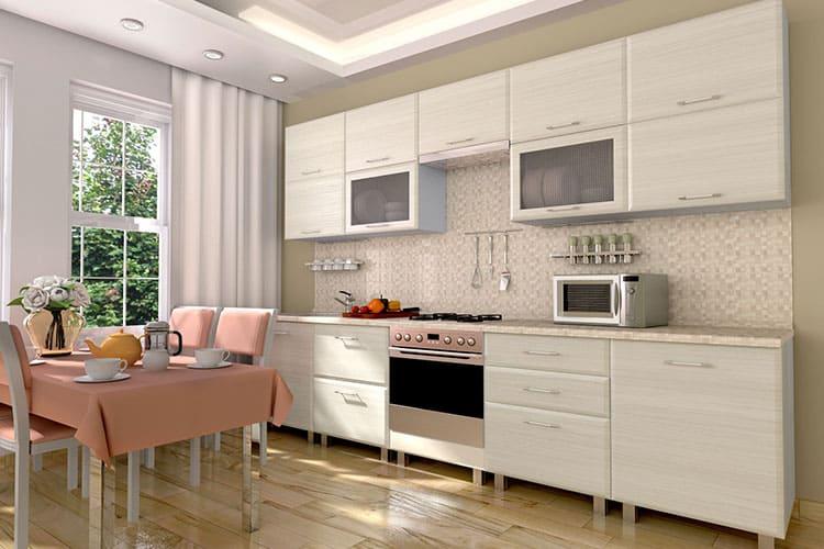 Кухонные гарнитуры с матовой поверхностью
