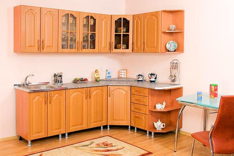 Кухонный угловой шкаф - экономит пространство