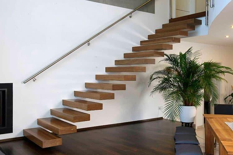 Лестницы консольного типа