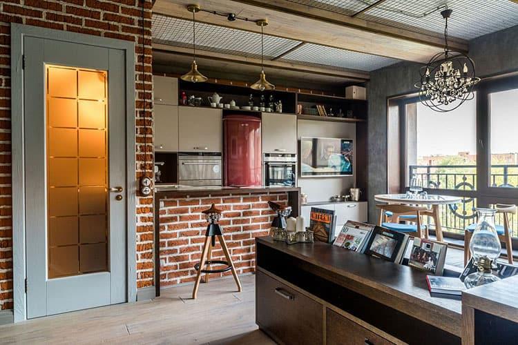 Лофт в квартире-студии