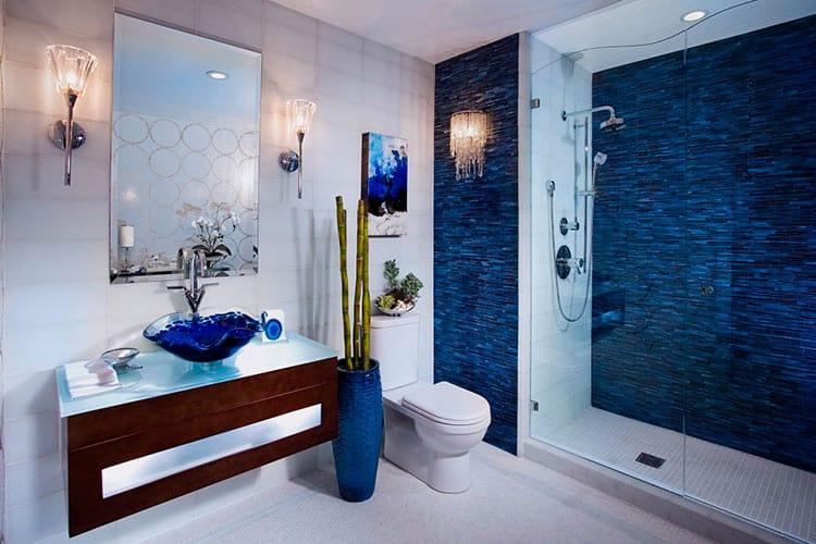 Море в ванной комнате
