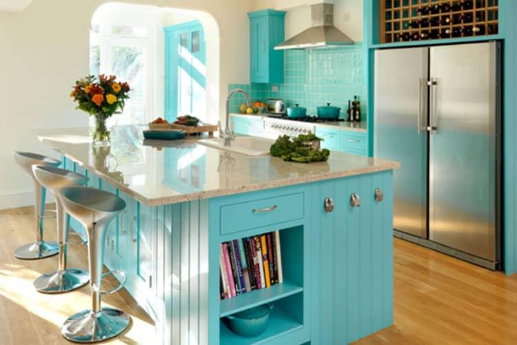 Нотки оригинальности в оформлении кухни