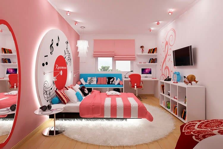 оформление детской комнаты в зависимости от возраста ребенка