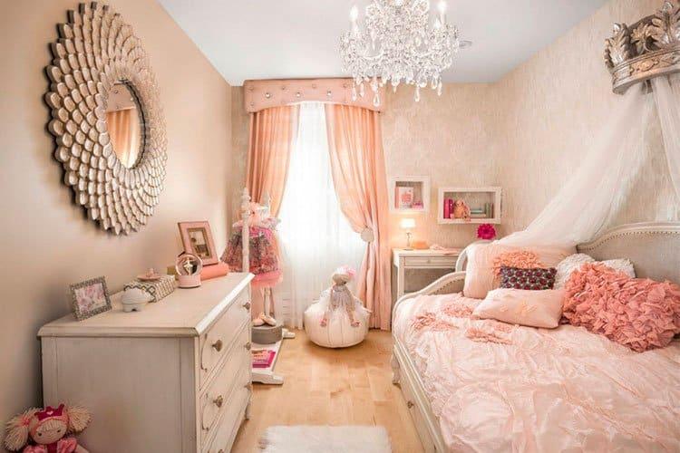 оформление девичьей комнаты как не прогадать с выбором дизайна проекта