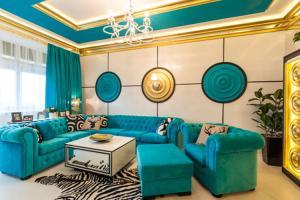 Особенности применения бирюзового цвета в дизайне интерьера
