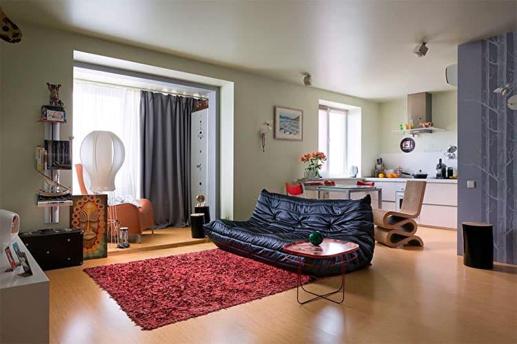 перепланировка маленькой квартиры в 33 м