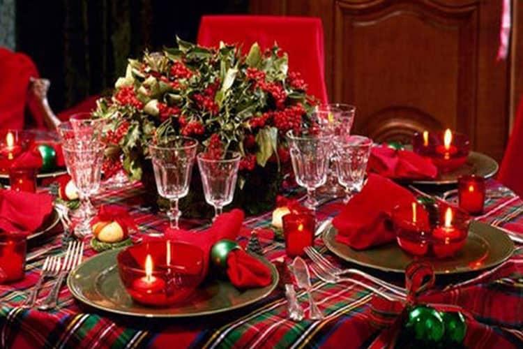 Праздничный стол - идеи стильного украшения и сервировки