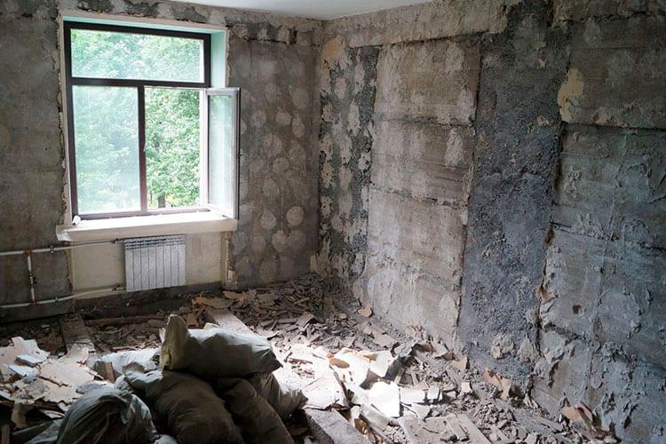 Правила проведения демонтажных работ