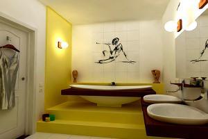 Ремонт ванной комнаты в этническом стиле
