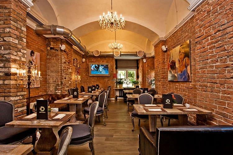 Ресторан в стиле лофт