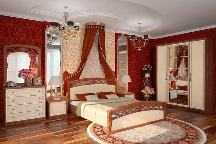 Спальня в историческом стиле