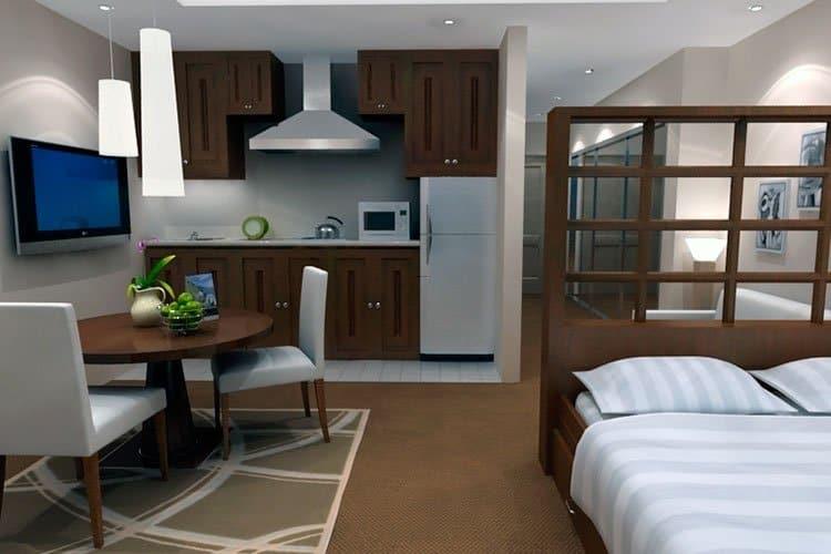 Дизайн однокомнатной квартиры 5