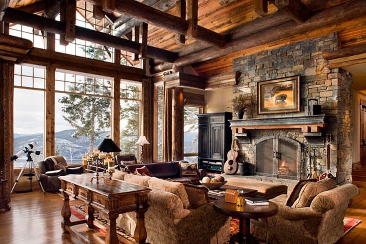 Завораживающе уютный стиль Рустик